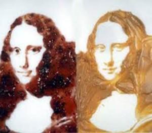 Mona Lisa-Mantequilla de maní y mermelada