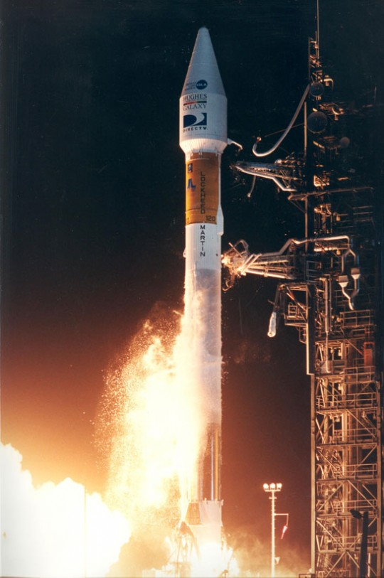 Galaxy III-R Satellite Launch - Cape Canaveral - December 14, 1995